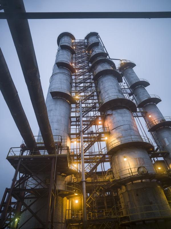 Oil Refinery, Russia