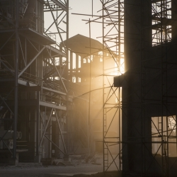 Cement Factory, India